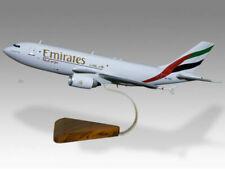 Airbus A310 Emirates Air Cargo Solid Mahogany Handmade Desktop Model