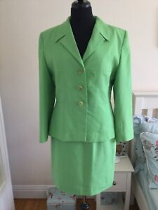 Precis Petite Ladies Suit Size 12 Green