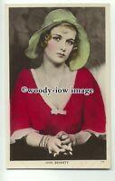 b2702 - Film Actress - Joan Bennett - Picturegoer Colourgraph postcard C14a