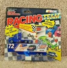 1991 Racing Champions 1:87 Team Transporter NASCAR Ken Bouchard Auto Place #72