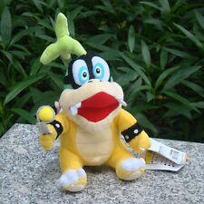 "Super Mario Bros 3 Koopalings Iggy Koopa 6"" Plush Toy Bowser Doll Stuffed Animal"
