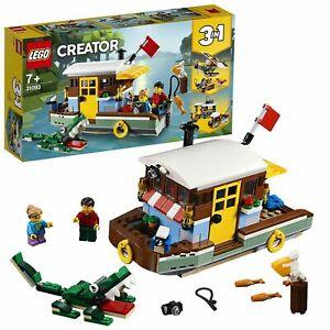 31093 LEGO Creator Riverside Houseboat  3in1 Set BRAND New/Sealed