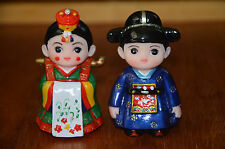 Korean doll Groom Bride LOVE STORIES CERAMIC FIGURINES Couples Collections