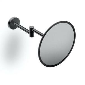 "Cosmic Black wall-mounted beauty mirror black 8"" Shaving 🪒 Mirror"