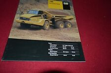 Caterpillar 740 Articulated Dump Truck Dealer's Brochure DCPA8