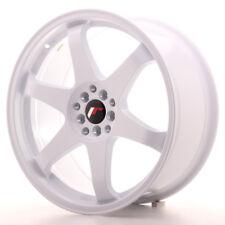 """Un Cerchio in Lega Japan Racing JR3 19"""" x 8.5""""  ET35 5 x 100 / 120 Bianco WHITE"""