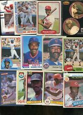 GEORGE FOSTER LOT OF 13 ALL DIFFERENT REDS NEW YORK METS
