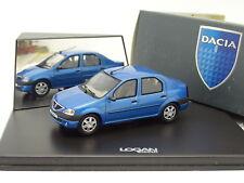 Eligor 1/43 - Renault Dacia Logan Bleue