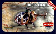 "Light Attack Helicopter OH-6А Cayuse / ""Loach"" Plastic Model Kit 1/48 AMP 401"
