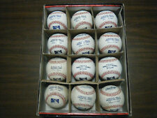 12 Rawlings Minor League new & used autographed baseballs batting practice?