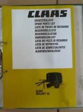 Claas Ladepresse Pick-up Hd Prospekt 195? Kataloge & Prospekte 197118