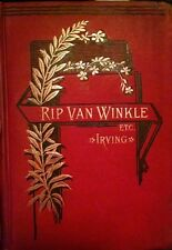 Motivated Seller Rip van winkle and other stories 1882 ULTRA RARE