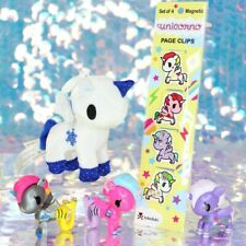 NEON STAR Tokidoki Mermicornos Unicornos Snap & Switch Backpack Page Clips BD654