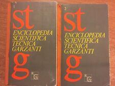 Enciclopedia scientifica tecnica Garzanti 2 volumi 1969