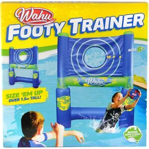 wahu footy trainer pool inflatable sports toy