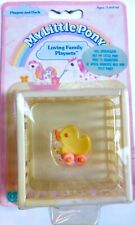 my little pony g1 LOVING FAMILY ** PLAYPEN & DUCK ** BABY APPLE DELIGHT MOC