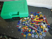 K'nex A Good Selection Of Knex In Knex Box App 1.5k Including Weight Of Box.