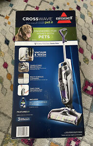 BISSELL CrossWave Pet Multi Surface Cleaner #2328 BRAND NEW Factory Sealed!