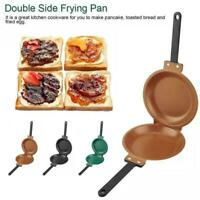 Double Sides Non-stick Flip Frying Pan Fried Egg Omelette Maker Household