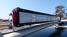 Best 900 W 4-row 8D 52 inch LED light bar for off-road, car, truck. Spot+flood