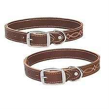 """Weaver Leather Dog Collars - Pink 21 """""""