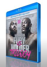 Tyson Fury vs. Deontay Wilder Trilogy on Blu-ray