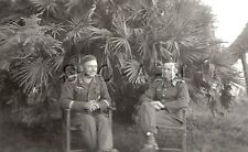 WWII Original German Army RP- Soldier- Officer- Badge- Medal- Chair- Palm Tree