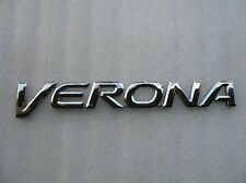 2005 SUZUKI VERONA REAR LID CHROME EMBLEM LOGO DECAL BADGE SIGN OEM 04 05 06