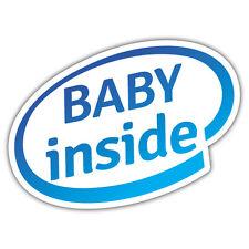 Bebé dentro de la etiqueta engomada 112 X 86 Señor oilcan exclusiva de la etiqueta engomada