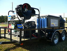 HOT WATER PRESSURE WASHER & RECYCLING PORTABLE SYSTEM