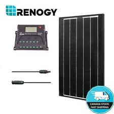 30W Solar Panel Kit Renogy 12V Off Grid Power System 10A Controller RV Boat Home