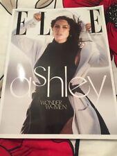 ELLE UK Magazine November 2017 - Ashley Graham Subscribers Cover - Brand New