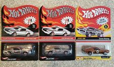 New ListingLot of 3 Hot Wheels Rlc Club Custom Mustang Blue & Red Stripes Plus Series One