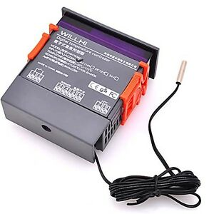 Digital Thermostat Temperaturregler Temperatur Controller Universal WH7016C