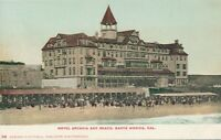 SANTA MONICA CA – Hotel Arcadia and Beach – udb (pre 1908)