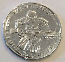 Star Wars Revenge Of The Sith Clone Trooper Galactic Marine Coin Medal