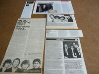 THE KNACK - MAGAZINE CUTTINGS COLLECTION (REF C)