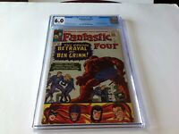 FANTASTIC FOUR 41 CGC 6.0 WHITE PAGES FRIGHTFUL FOUR MARVEL COMICS