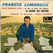 """FRANCIS LEMARQUE """"LA GUERRE DES BOUTONS"""" 60'S EP"""