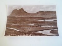 Quinag And Loch Assynt, Sutherland (Between Lochinver+Lairg) RPPC  §R229