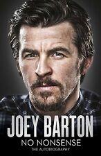 SIGNED BOOK - Joey Barton - No Nonsense - My Autobiography - Football book