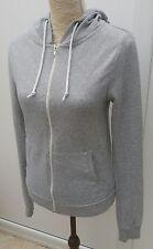 Atmosphere Ladies Size 8 Grey Marl Zip Hoodie Hooded Sweat Top Autumn Fashion