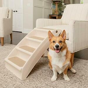 PetSafe Solvit PupStep Plus Pet Stairs Foldable Steps for Dogs and Cats Best ...