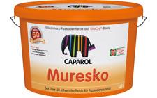 Caparol Muresko SilaCryl Fassadenfarbe 12,5l (7,99 EUR/Liter) Eimer weiß