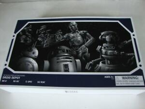 Disney Star Wars Galaxy's Edge Black Series Droid Depot BB-8 R2-D2 C-3PO DJ R3X