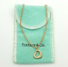 Genuine Tiffany & Co 18ct (750, 18K) Rose Gold Bracelet With Heart Charm