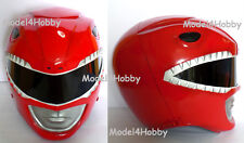 """Outside Cliplock! Cosplay! Mighty Morphin Power Rangers """"RED"""" 1/1 Scale Helmet"""