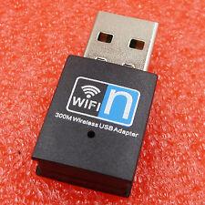 300Mbps Wireless USB Wifi Adapter LAN Antenna Network Adapter 802.11n/g/b BIUS