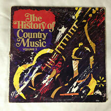 "The History Of Country Music Volume 3 [vinyl - 2x12""]"
