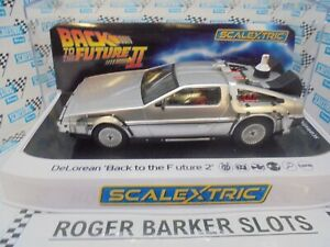 "Scalextric  C4249 DeLorean ""Back to the Future 2 "" lights DPR BNIB NEW RELEASE"